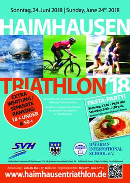 BIS/Haimhausen Triathlon – registration opens 20 May 2018!